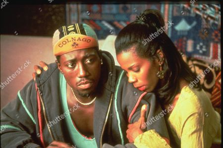 Stock Picture of Wesley Snipes, Tyra Ferrell