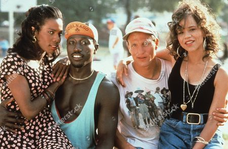 Tyra Ferrell, Wesley Snipes, Woody Harrelson, Rosie Perez