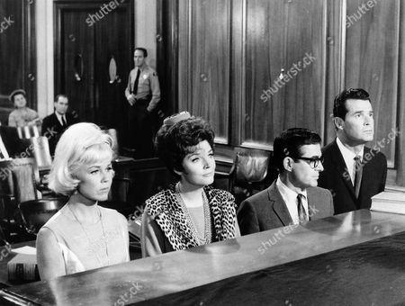 Doris Day, Polly Bergen, Pat Harrington, James Garner