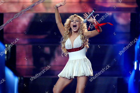 Editorial picture of DRESS REHEARSAL FOR THE FINAL OF THE EUROVISION SONG CONTEST, ATHENS, GREECE - 19 MAY 2006
