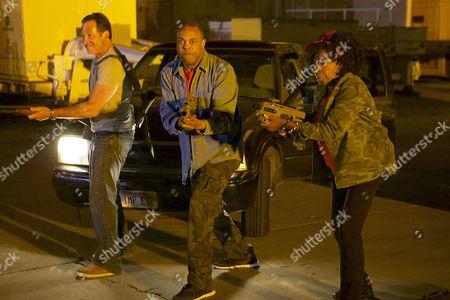 Steve Guttenberg, Michael Winslow, Marion Ramsey