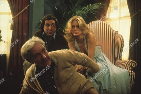 Chevy Chase, Goldie Hawn, Burgess Meredith