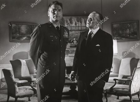Stock Image of Burt Lancaster, Fredric March