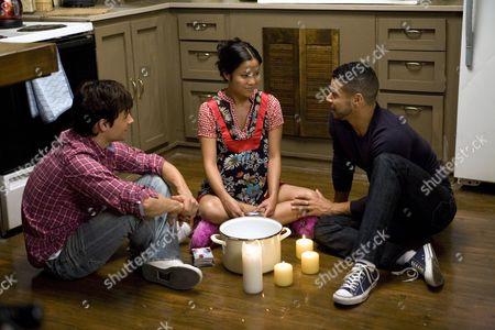 Stock Picture of Rane Jameson, Karin Anna Cheung, Wilson Cruz