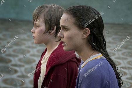 Stock Image of Devin Brochu, Natalie Portman