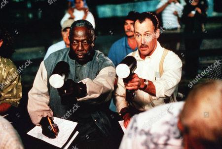 Hank Aaron, John McGinley