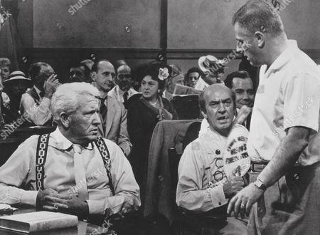 Spencer Tracy, Fredric March, Stanley Kramer