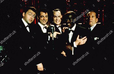 Stock Photo of Angus McFadyen, Joe Mantegna, Ray Liotta, Don Cheadle, Bobby Slayton