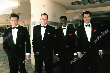 Stock Image of Angus McFadyen, Ray Liotta, Don Cheadle, Joe Mantegna