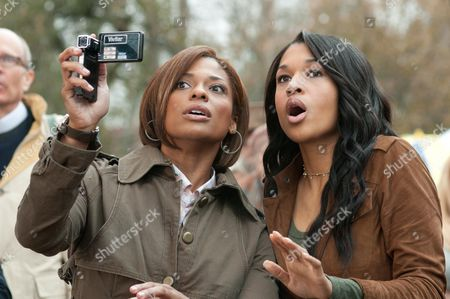 Stock Photo of Kimrie Lewis-Davis, Kali Hawk