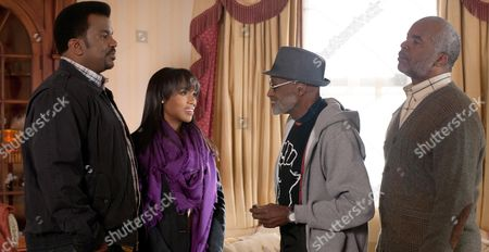 Stock Image of Craig Robinson, Kerry Washington, Melvin Van Peebles, David Alan Grier