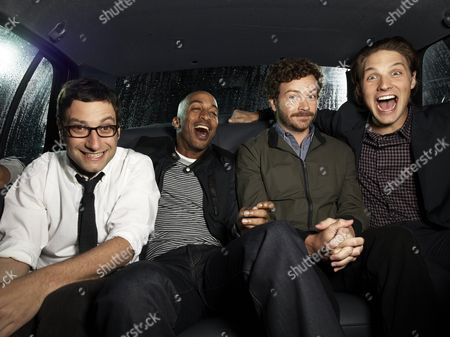 Adam Busch, James Lesure, Danny Masterson, Michael Cassidy