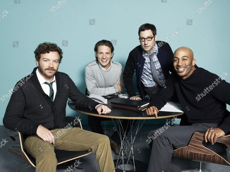 Danny Masterson, Michael Cassidy, Adam Busch, James Lesure