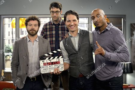 Danny Masterson, Adam Busch, Michael Cassidy, James Lesure