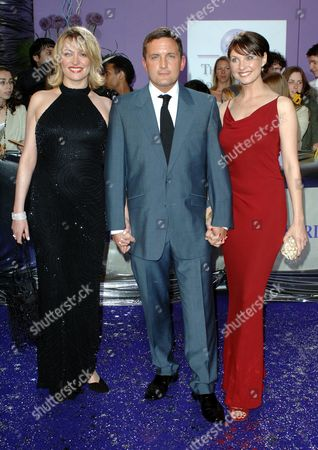Laurie Brett, Joel Beckett and Emma Barton
