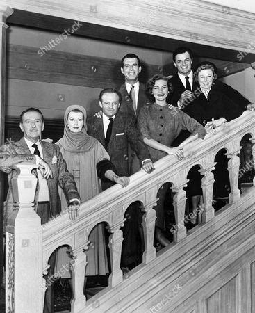 Clifton Webb, Arlene Dahl, Van Heflin, Fred Macmurray, Lauren Bacall, Cornel Wilde, June Allyson