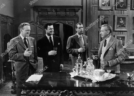 Van Heflin, Cornel Wilde, Fred Macmurray, Clifton Webb