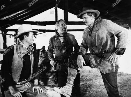 John Wayne, Ward Bond, James Arness