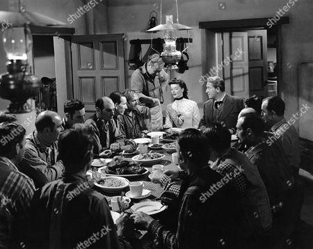 Stock Photo of Edgar Buchanan, Katharine Hepburn, Spencer Tracy