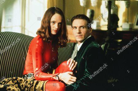 Uma Thurman, Ralph Fiennes