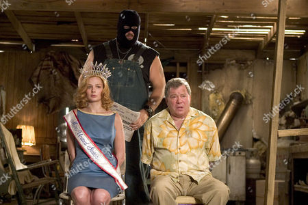 Stock Picture of Heather Burns, Abraham Benrubi, William Shatner