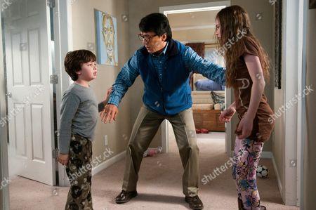 Will Shadley, Jackie Chan, Amber Valletta