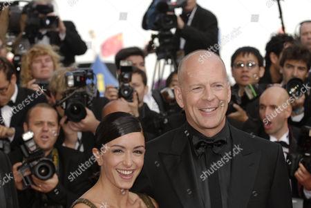 Jenifer Bartoli and Bruce Willis