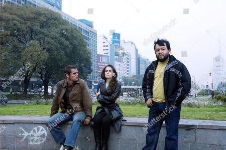 Stock Picture of Tony Dalton, Alejandra Barros