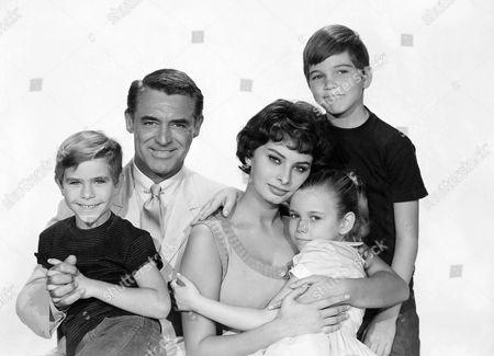 Charles Herbert, Cary Grant, Sophia Loren, Mimi Gibson, Paul Petersen
