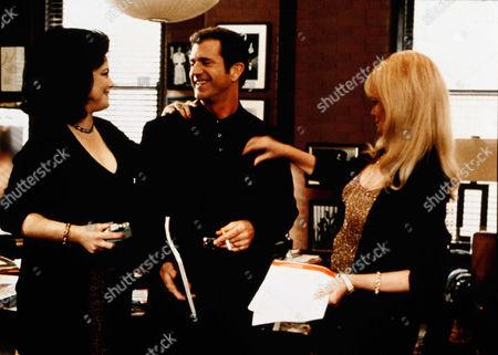 Delta Burke, Mel Gibson, Valerie Perrine