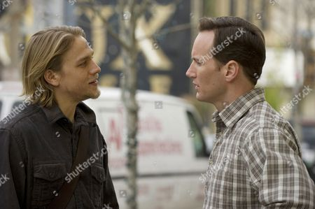 Stock Picture of Charlie Hunnam, Patrick Wilson