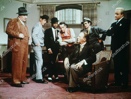Hank Henry, Dean Martin, Sammy Davis Jr, Frank Sinatra, Bing Crosby, Richard Bakalyan, Phil Crosby