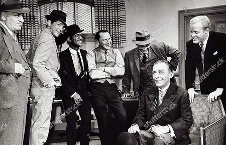 Hank Henry, Dean Martin, Sammy Davis Jr, Frank Sinatra, Richard Bakalyan, Bing Crosby, Phil Crosby