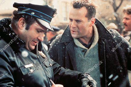 Stock Photo of Robert Costanzo, Bruce Willis