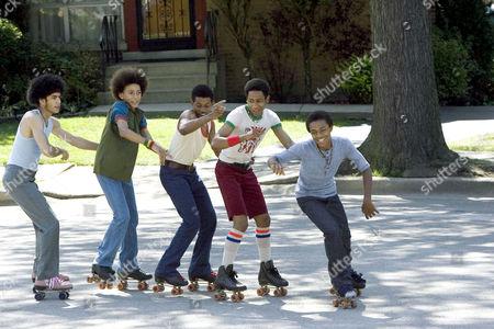 Rick Gonzalez, Khleo Thomas, Marcus T. Paulk, Brandon T. Jackson, Lil Bow Wow