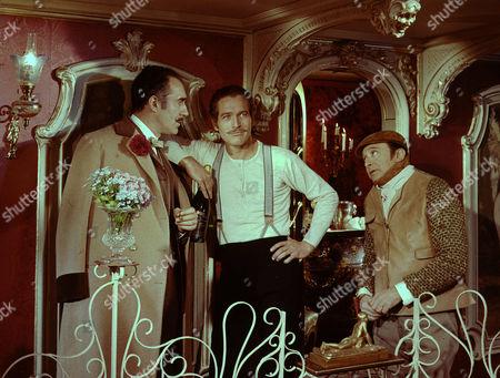 Michel Piccoli, Paul Newman, Marcel Dalio