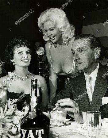 Jayne Mansfield, Sophia Loren, Clifton Webb