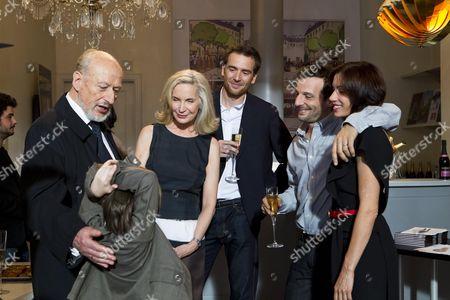 Stock Picture of Vernon Dobtcheff, Marie-Christian Adam, Mathieu Kassovitz, Juliette Binoche
