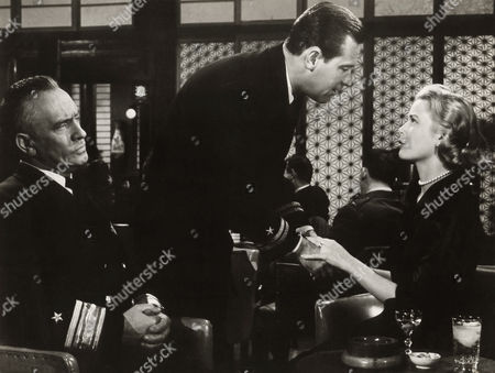 Fredric March, William Holden, Grace Kelly