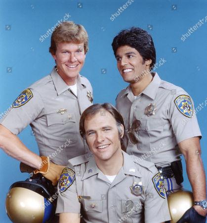 Larry Wilcox, Robert Pine, Erik Estrada