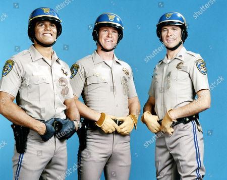 Erik Estrada, Larry Wilcox, Robert Pine
