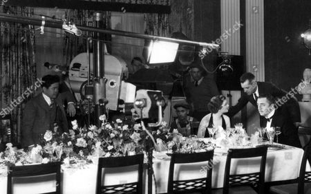 Jimmy Wong Howe, W.S. Van Dyke, Myrna Loy, William Powell
