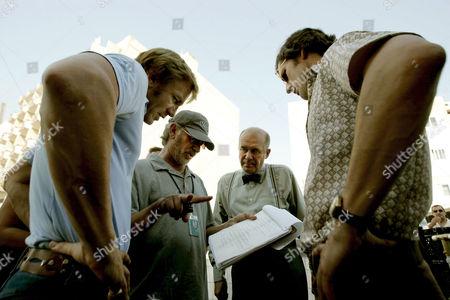Daniel Craig, Steven Spielberg, Hanns Zischler, Eric Bana