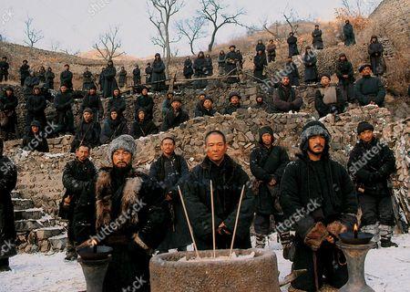 Andy Lau, Jet Li, Takeshi Kaneshiro