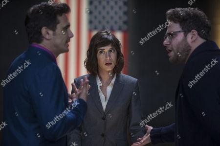 James Franco, Lizzy Caplan, Seth Rogen