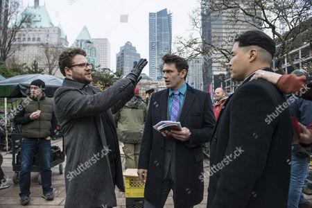 Seth Rogen, James Franco, Randall Park