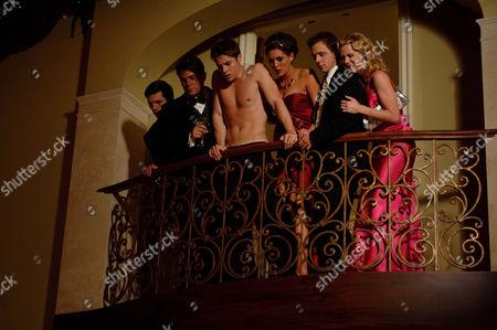 Stock Picture of Josh Henderson, Taylor Cole, Joe Egender