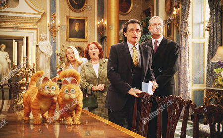 Stock Picture of Lucy Davis, Jane Carr, Oliver Muirhead, Roger Rees