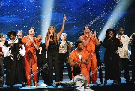 Mae Middleton, Melba Moore, Chris Cole, Zane Copeland Jr, Beyonce Knowles, Rue McClanahan, Montell Jordan