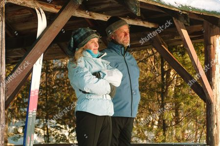 Stock Image of Julie Christie, Gordon Pinsent